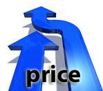rising price