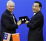 Malaysia, China Put on United Front as They Mark 40 Years of Diplomatic Ties