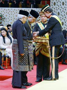 Tan Sri Rastam Mohd Isa, Chief Executive of ISIS Malaysia was conferred the title 'Dato Seri Laila Jasa'