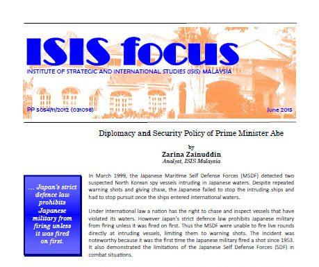 ISIS focus No.6/2015