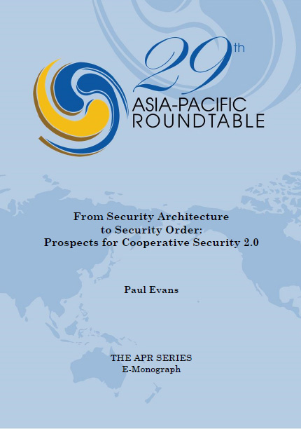 From Security Architecture to Security Order: Prospects for Cooperative Security 2.0