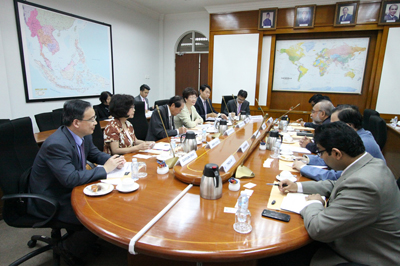 Visit by Prospect Foundation of Taiwan