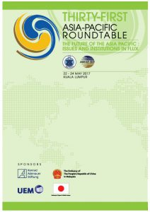 Thirty-First Asia-Pacific Roundtable