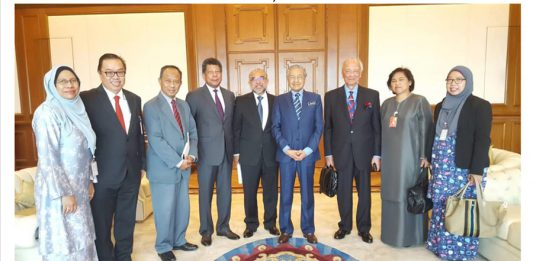 ISIS Malaysia BOD visit YAB Tun Dr. Mahathir Bin Mohamed