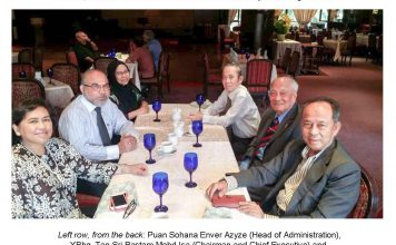 ISIS Malaysia Board of Directors Informal Luncheon Meeting