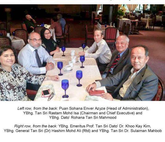 ISIS Malaysia Board of Directors Informal Luncheon Meeting